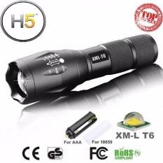 đèn pin led siêu sáng police usa, Đèn pin Police XTML-CLB 6S SIÊU SÁNG, BỀN BỈ, PIN TRÂU,  NỒI ĐỒNG CỐI ĐÁ TẶNG KÈM 1 PIN 7000Ma+1 sạc+1 đốc để pin AAA+1 hộp đựng cao cấp