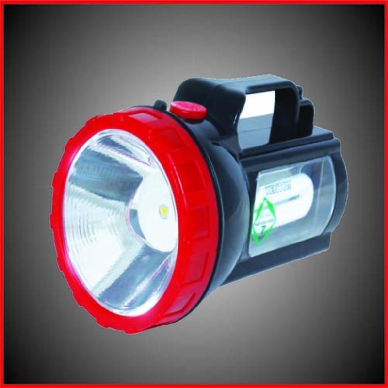 Bảng giá Mua Đèn pin sạc chiếu sáng cầm tay Kentom KT204 (Đỏ - Đen)