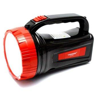 Đèn pin sạc điện Tiross ts1137 (Đen phối đỏ)
