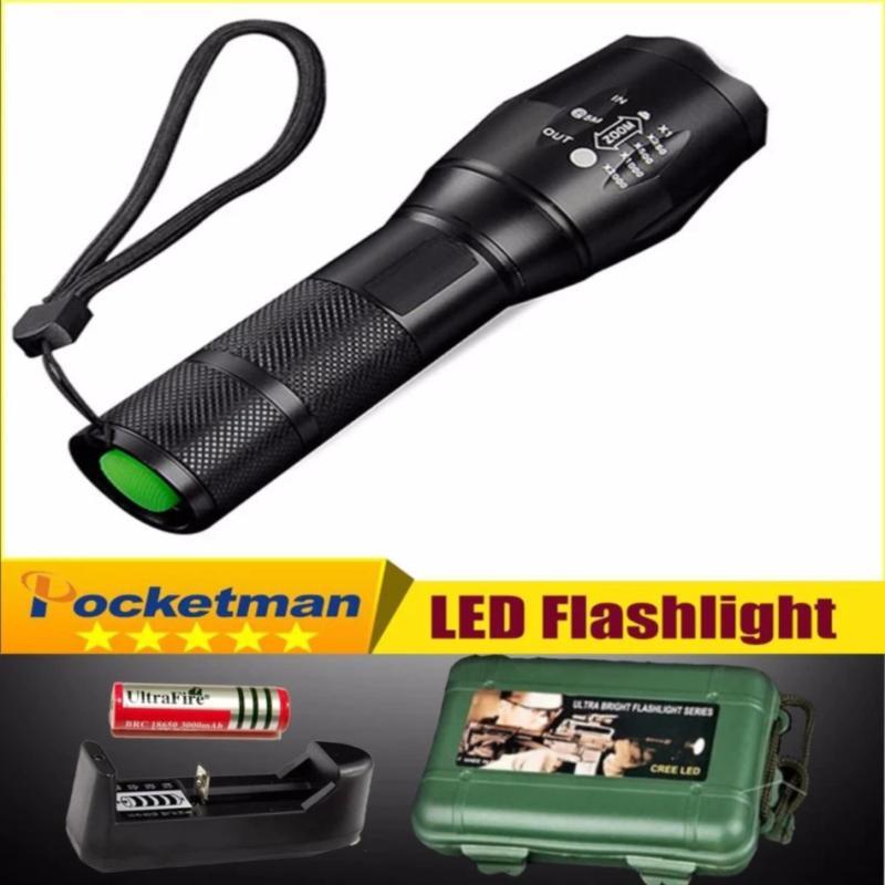 Bảng giá Đèn pin siêu sáng - cường độ phát sáng cực mạnh XML - T6 giá tốt nhất thị trường