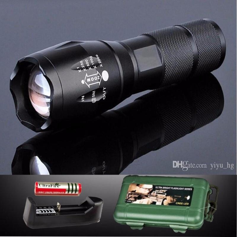 Bảng giá Đèn pin siêu sáng - Đèn pin siêu sáng, cường độ phát sáng cực mạnh TE1000 - BH UY TÍN  TECH-ONE