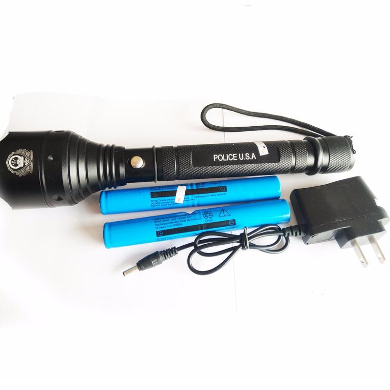 Bảng giá Đèn pin siêu sáng Police K9 led Cree T6 2pin