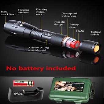 Đèn quay - Đèn pin siêu sáng HUNTER S26, giá rẻ nhất - BH 1 ĐỔI 1