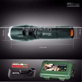 Den sang - Đèn pin siêu sáng HUNTER S26, giá rẻ nhất - BH 1 ĐỔI 1