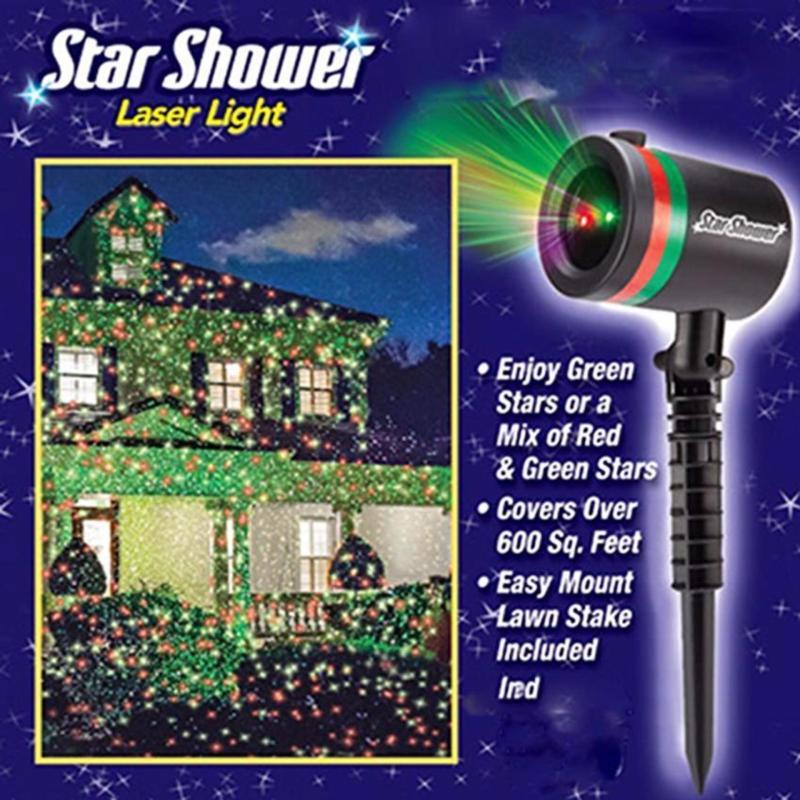 Bảng giá Mua Đèn tạo hiệu ứng mưa sao lung linh Star Shower (Đen)