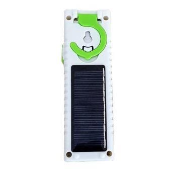 Đèn tích điện đa năng sạc năng lượng mặt trời 9908T (Xanh lá)
