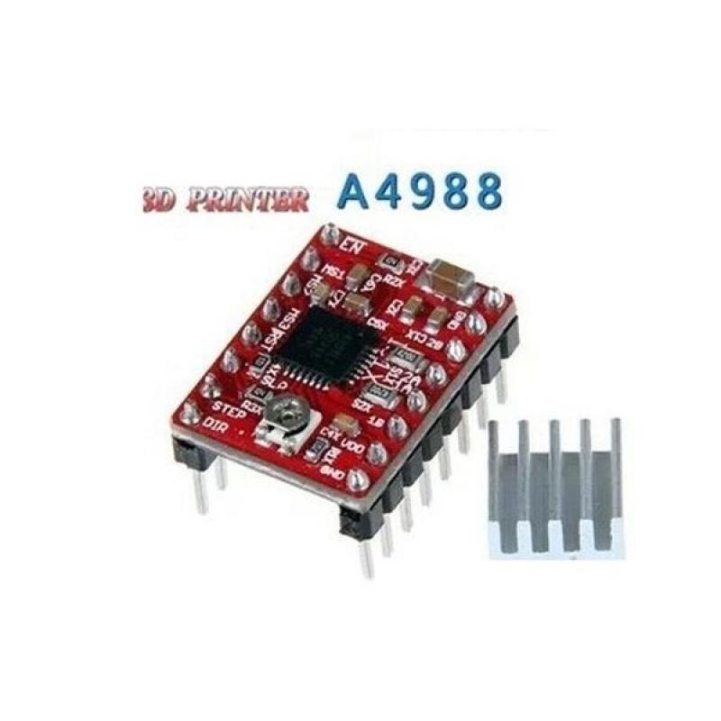 Điều khiển động cơ bước A4988 3D