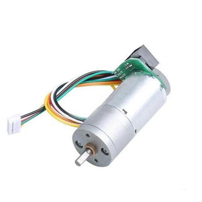 Bảng giá Mua Động Cơ Encoder 334 Xung JGA25-371 + Giảm Tốc RP126(1:34)