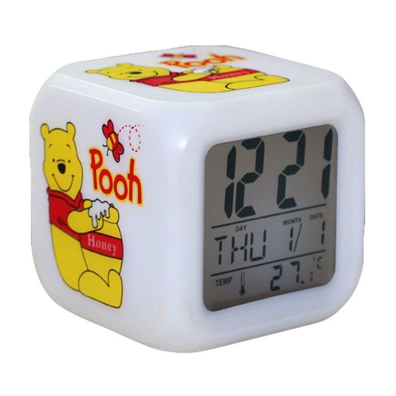 Đồng hồ báo thức 7 màu Gấu Pooh bán chạy
