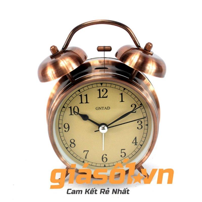 Nơi bán Đồng hồ báo thức Clock – 6040 (Đồng đỏ)