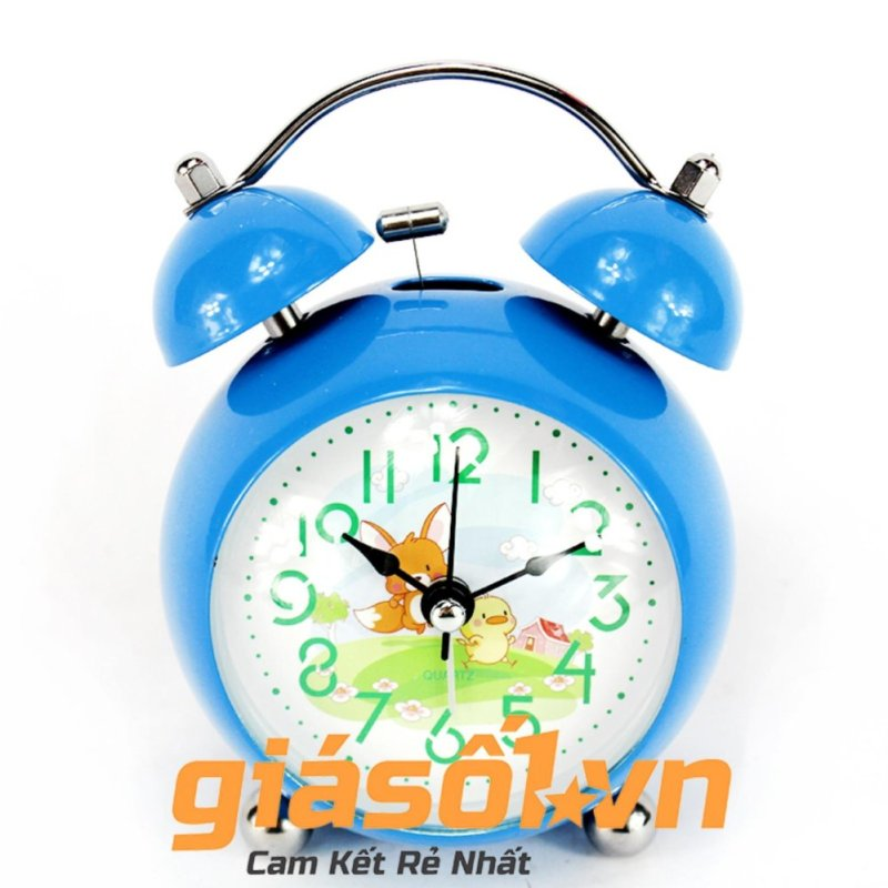 Nơi bán Đông hồ báo thức Clock – 6058 (Xanh dương nhạt)