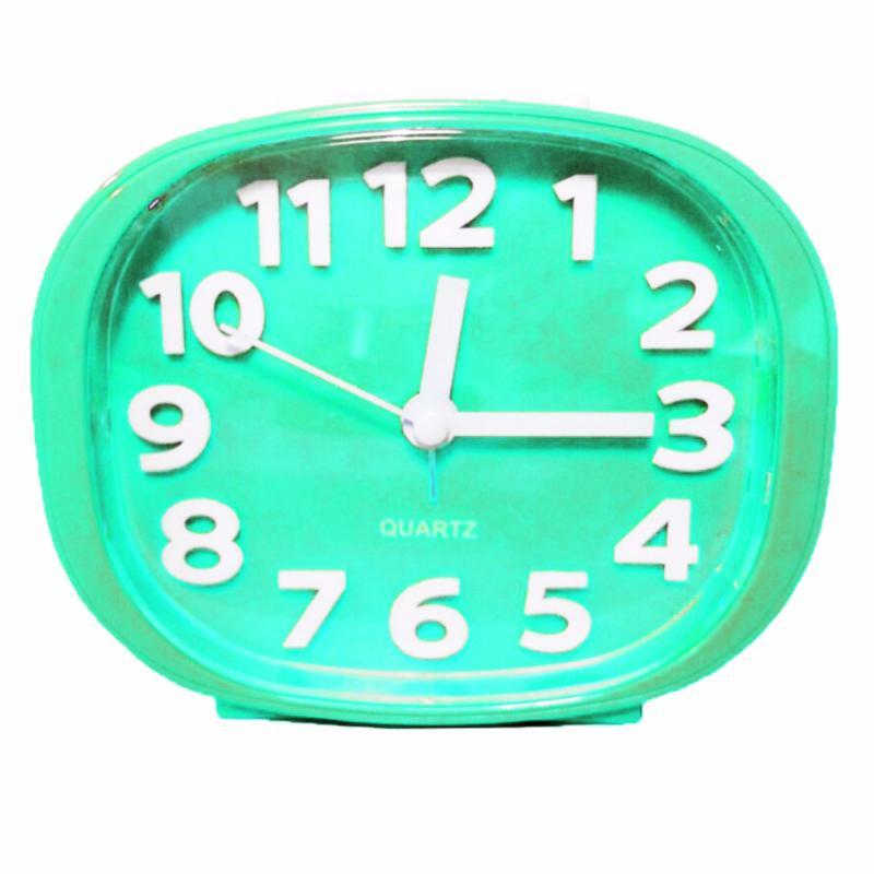 Nơi bán Đồng hồ báo thức có đèn Standard clock TI278 Xanh Nhạt