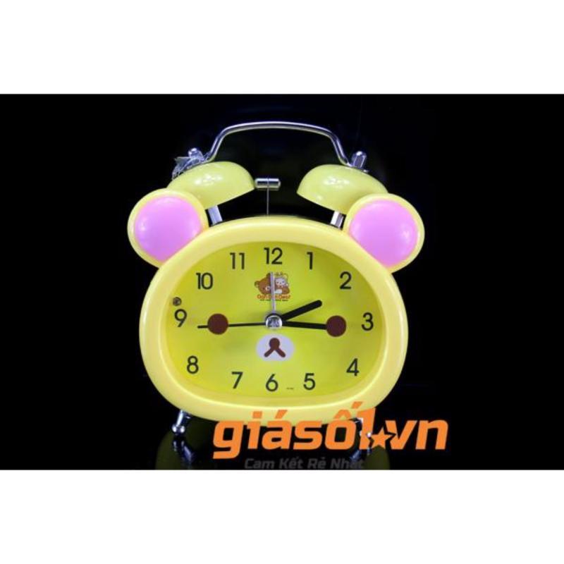 Nơi bán Đồng hồ báo thức để bàn cho bé 17051 (Vàng Nhạt)