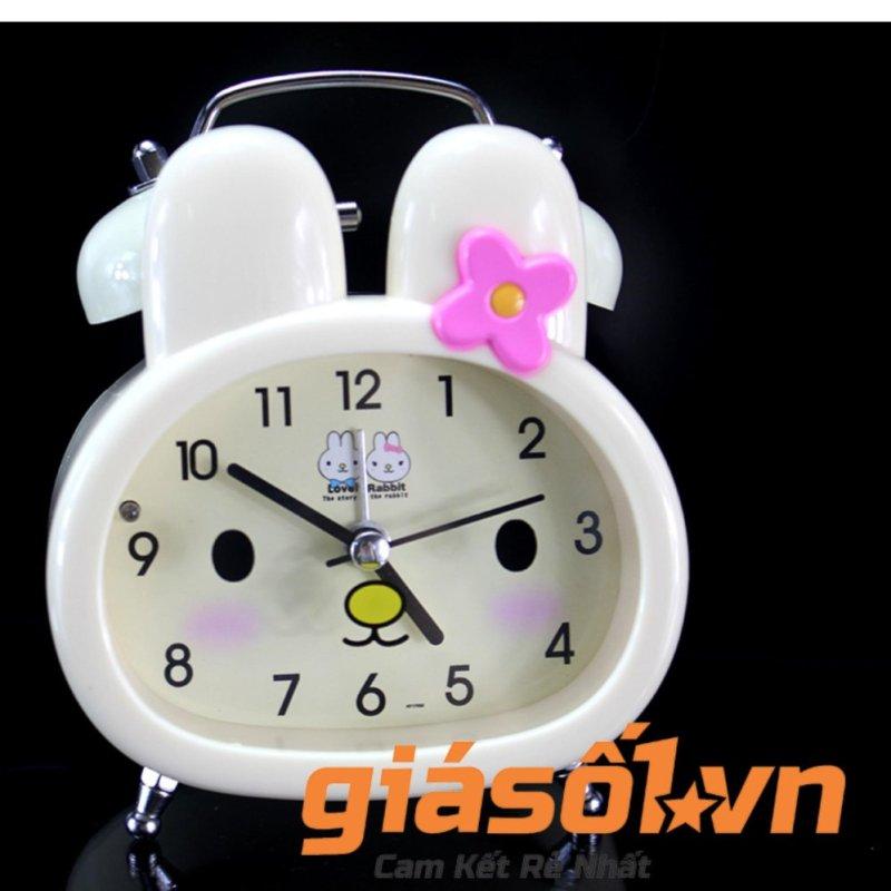 Đồng hồ báo thức để bàn cho bé 17052 (Vàng nhạt) bán chạy