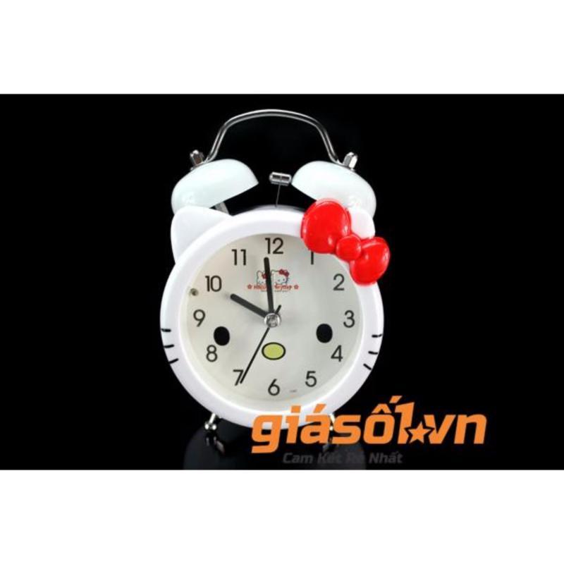 Nơi bán Đồng hồ báo thức để bàn cho bé 17063 (Trắng Đỏ)