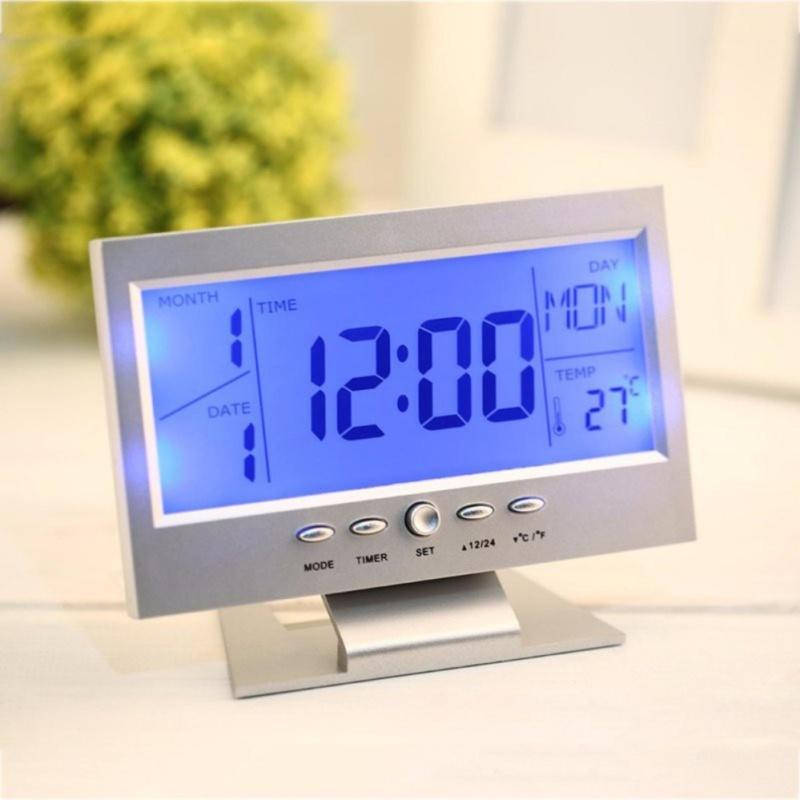 Đồng hồ báo thức để bàn LCD DS8082 bán chạy