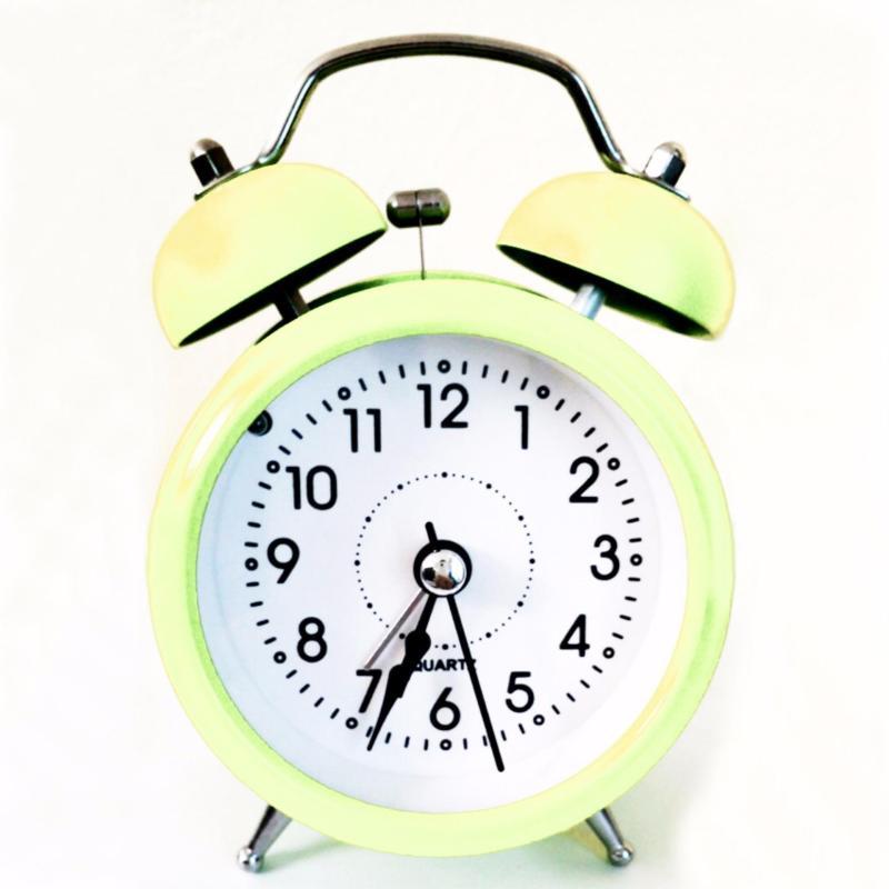 Đồng hồ báo thức để bàn Mini Alarm TI280 Trắng ngà bán chạy
