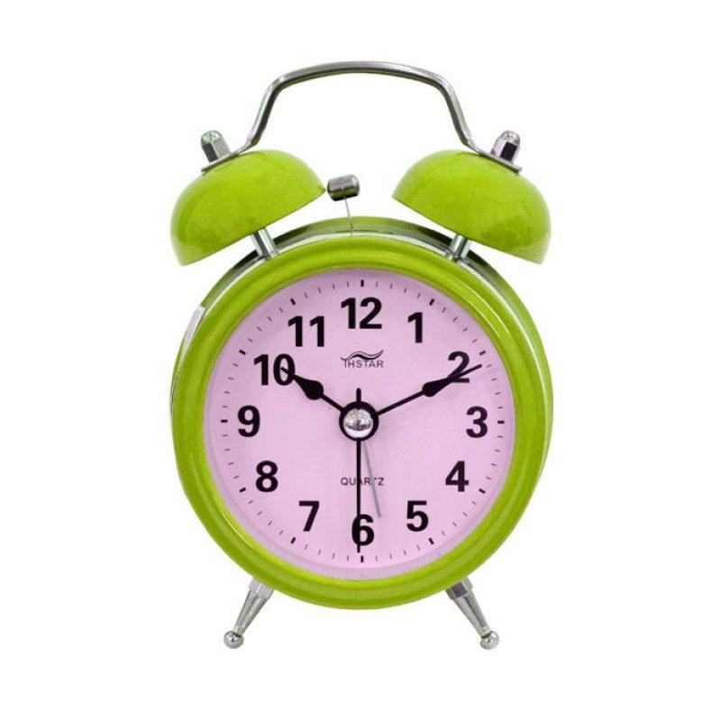 Đồng hồ báo thức để bàn Mini Alarm Tienich168 TI181 (Xanh) bán chạy