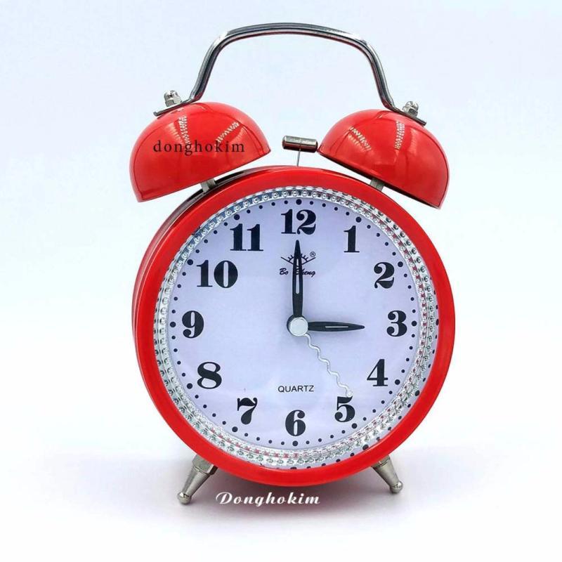 Nơi bán Đồng hồ báo thức dễ thương, đồng hồ báo thức chất lượng màu đỏ