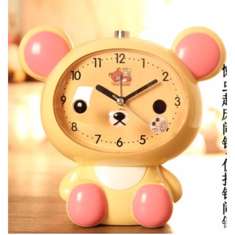 đồng hồ báo thức dễ thương hình nhân vật hoạt hình bán chạy