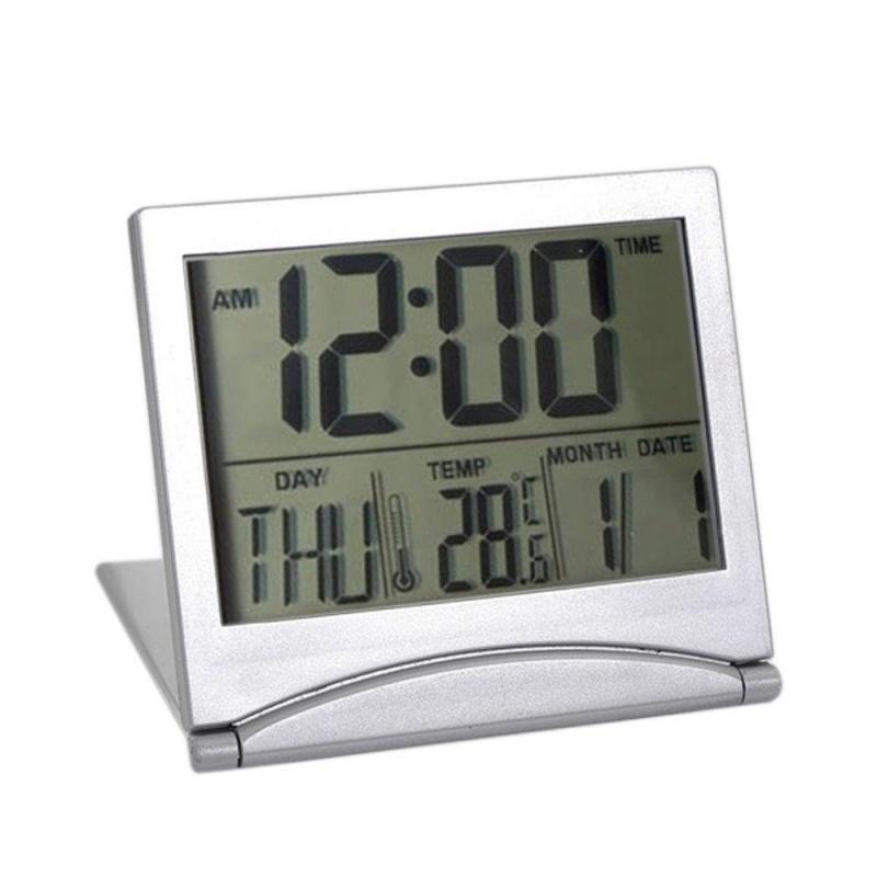 Đồng Hồ Báo Thức Kỹ Thuật Số LCD Để Bàn - Có Thể Báo Thời Tiết Và Nhiệt Độ  Khi Du Lịch - Quốc Tế bán chạy