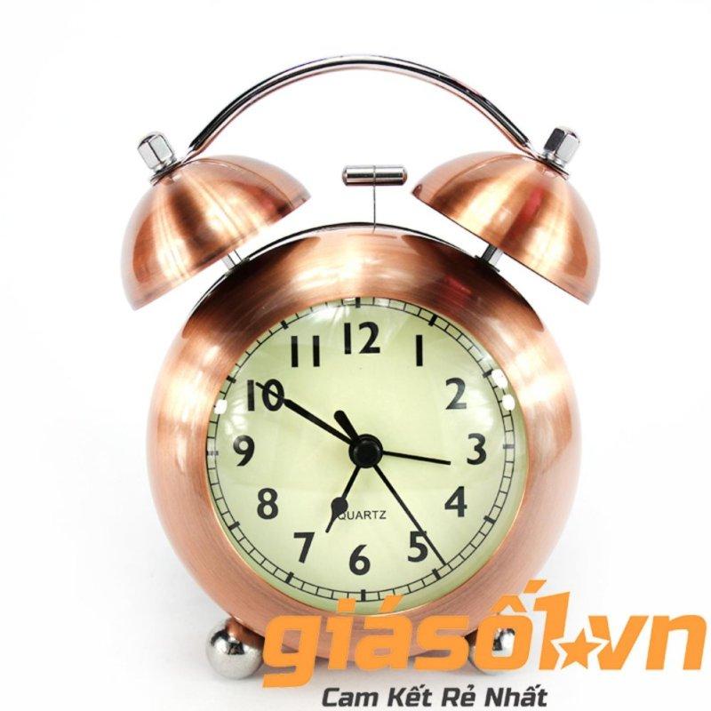 Nơi bán Đồng hồ báo thức US Mini Clock ( Vàng đồng )(Đồng đỏ)