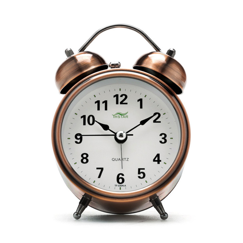 Đồng hồ để bàn báo thức History Alarm Tienich168 TI27 (Nâu) bán chạy
