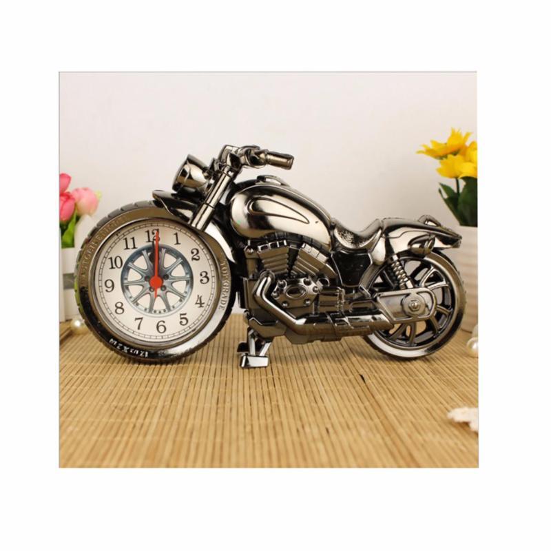 Đồng hồ để bàn báo thức mô hình Motor (Xám) bán chạy