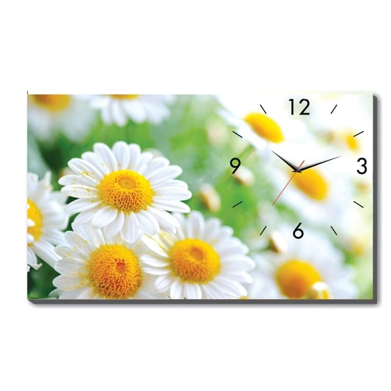 Đồng hồ để bàn Hoa cúc trắng Dyvina B1525-15 bán chạy