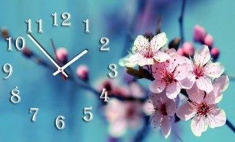 Đồng hồ để bàn Hoa đào mùa xuân SueMall DB140107