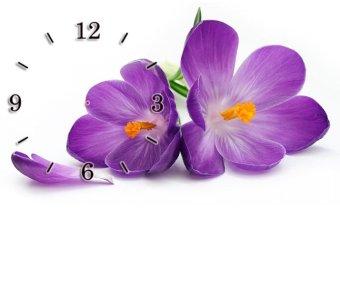 Đồng hồ để bàn Hoa tím SueMall DB140101