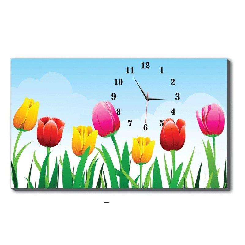 Nơi bán Đồng hồ để bàn Hoa tulip Dyvina B1525-30