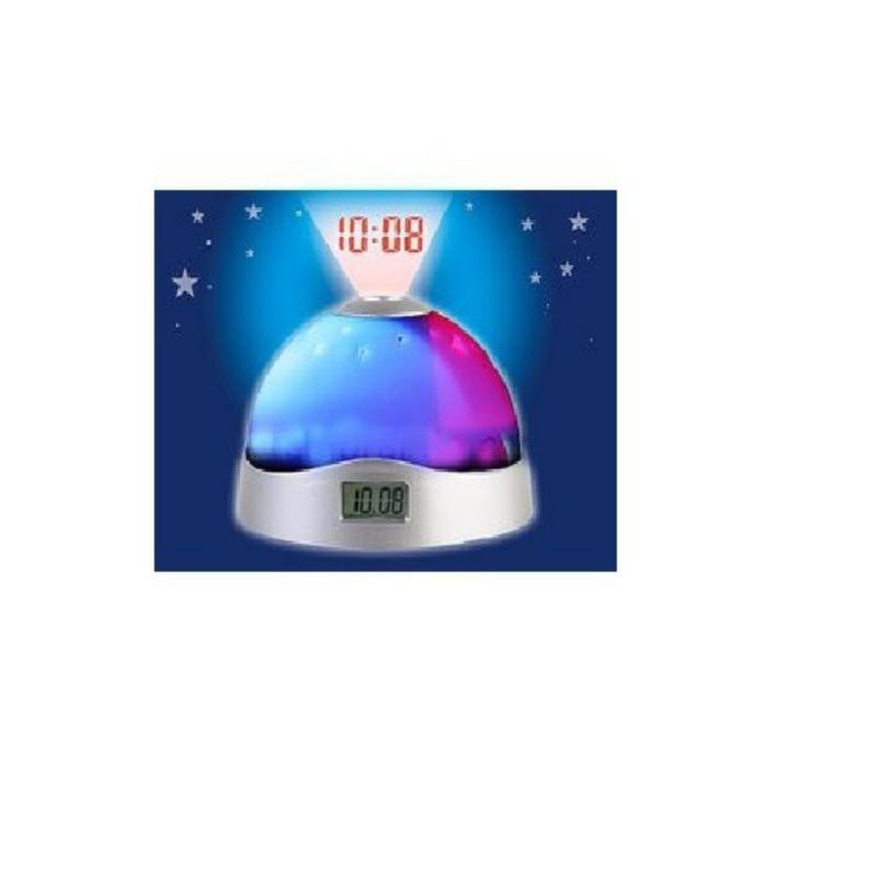 Bảng giá Mua Đồng hồ để bàn kiêm đèn ngủ chiếu sao và giờ lên trần nhà