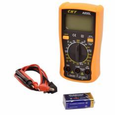 Đồng hồ điện điện tử CHY A830L có đèn (minh hồng)