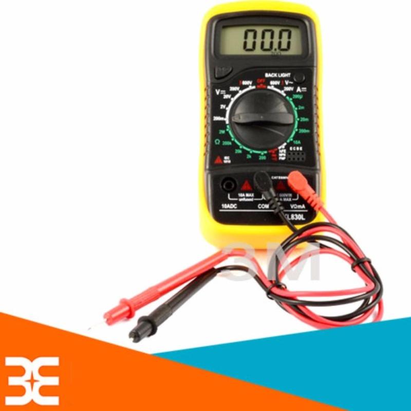 Bảng giá Mua Đồng hồ đo điện vạn năng XL830L Dạng hiển thị số điện tử