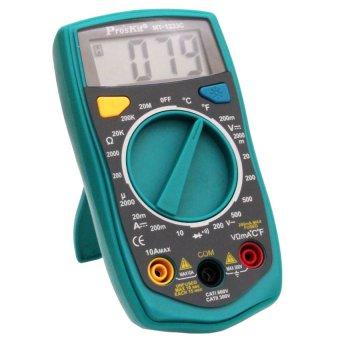 Đồng hồ đo Proskit MT-1233C (Xanh phối đen)