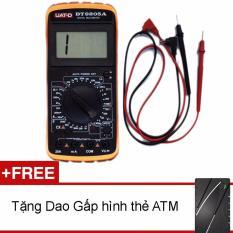 Đồng hồ đo vạn năng Digital UAT-D DT9205A + Tặng 1 dao gấp hình ATM