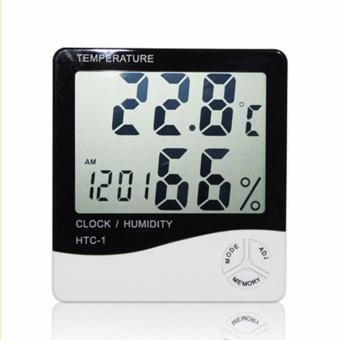 Đồng hồ thông minh đo nhiệt độ và độ ẩm hiện đại - 3