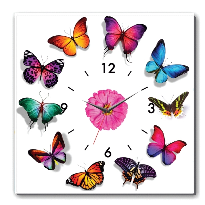 Nơi bán Đồng hồ tranh Bướm xuân Dyvina 1T3030-39