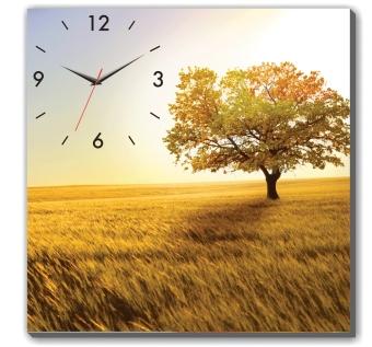 Đồng hồ tranh cánh đồng vàng Dyvina 1T4040-28
