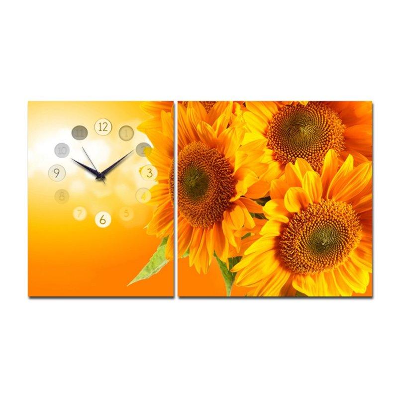 Nơi bán Đồng hồ tranh hoa hướng dương Suemall HL140602