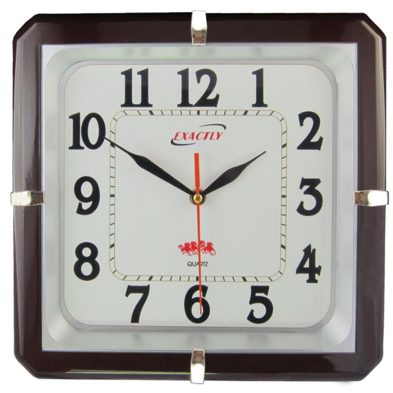 Nơi bán Đồng hồ treo tường EXACTLY U120 (Nâu)