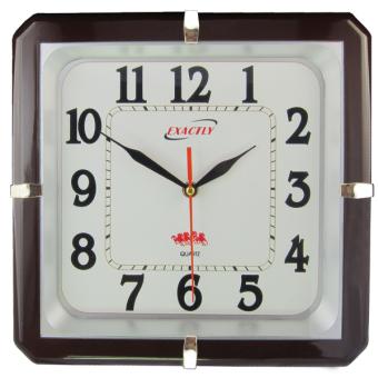 Đồng hồ treo tường EXACTLY U120 (Nâu) - 8144140 , EX754HLBA1Q0VNAMZ-824978 , 224_EX754HLBA1Q0VNAMZ-824978 , 199000 , Dong-ho-treo-tuong-EXACTLY-U120-Nau-224_EX754HLBA1Q0VNAMZ-824978 , lazada.vn , Đồng hồ treo tường EXACTLY U120 (Nâu)