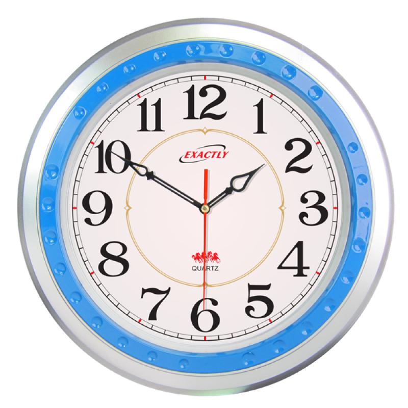 Nơi bán Đồng hồ treo tường EXACTLY U140 (Xanh)