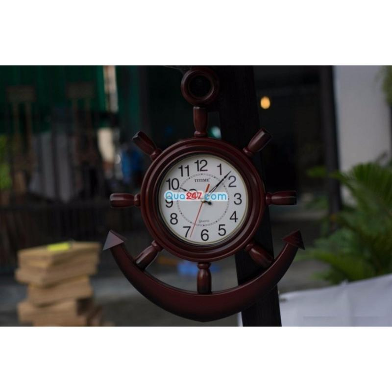 Nơi bán Đồng hồ treo tường hình mỏ neo 37*50 cm