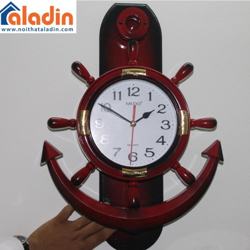 Nơi bán Đồng hồ treo tường hình mỏ neo Mido (Đỏ)