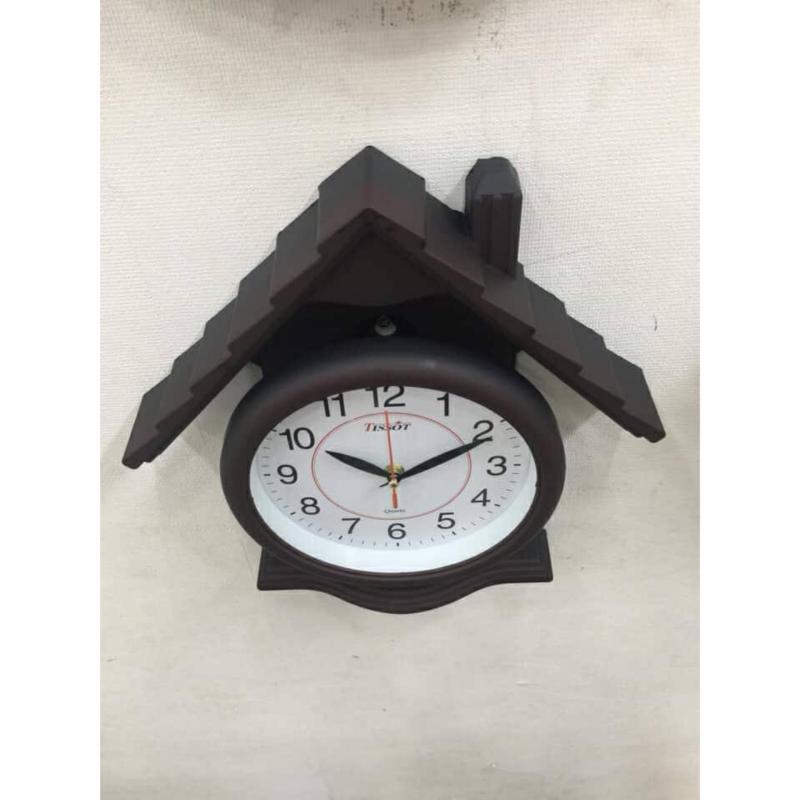 Nơi bán Đồng hồ treo tường hình ngôi nhà có ống khối Va105 - Bảo hành toàn quốc 3 tháng
