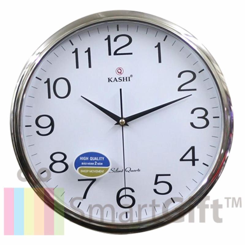 Nơi bán Đồng hồ treo tường Kashi K78 Bạc