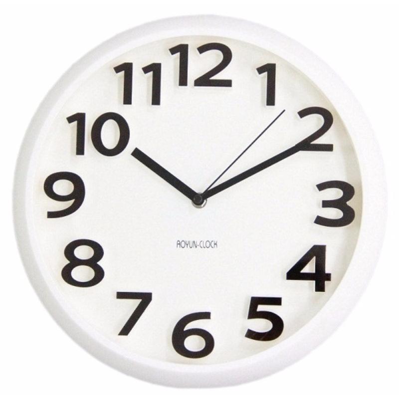 Nơi bán Đồng hồ treo tường kim trôi cao cấp Aoyun Clock ( Trắng )
