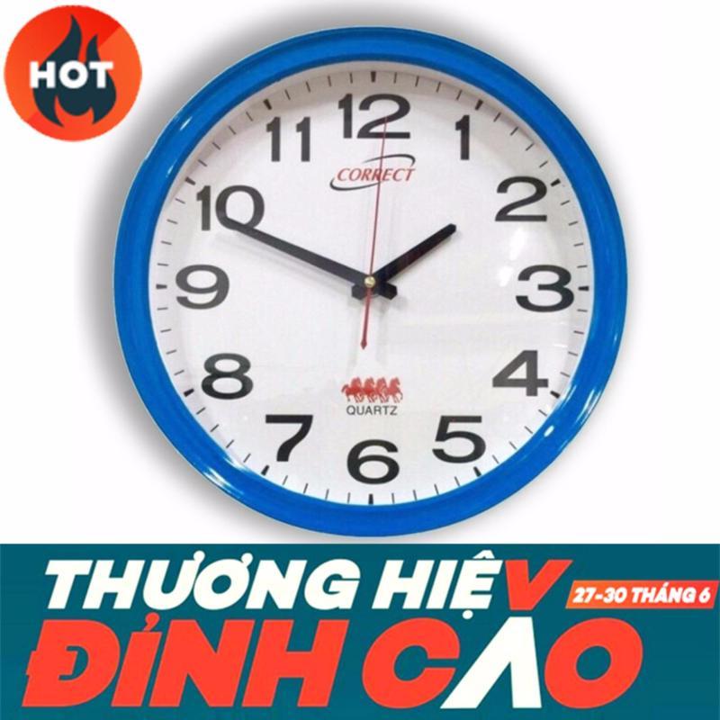 Nơi bán Đồng hồ treo tường Ogiare CORRECT K015 (Trắng xanh)